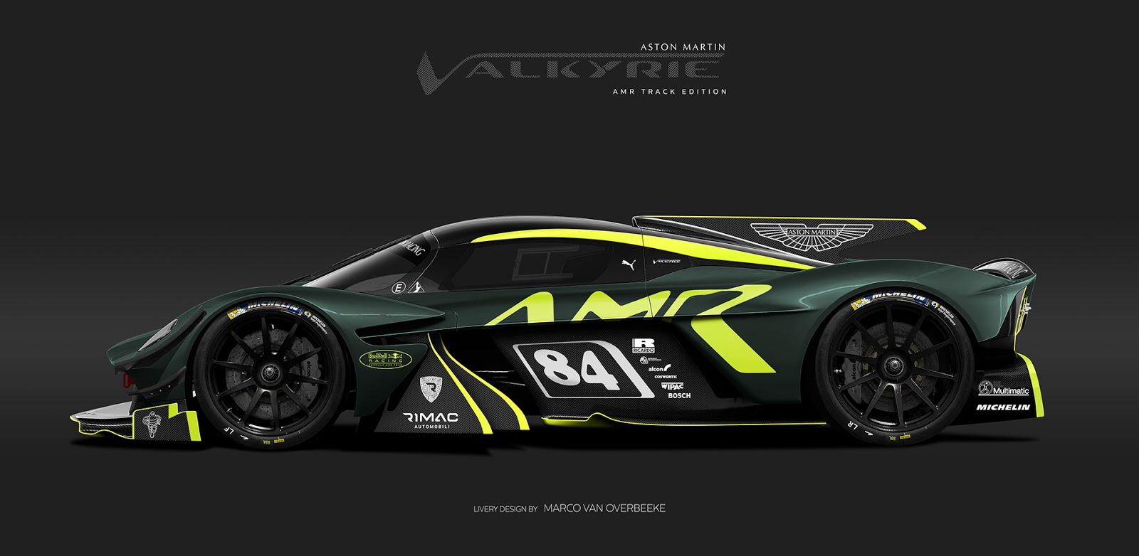 aston martin valkyrie rendered in track only and roadster guises carscoops. Black Bedroom Furniture Sets. Home Design Ideas