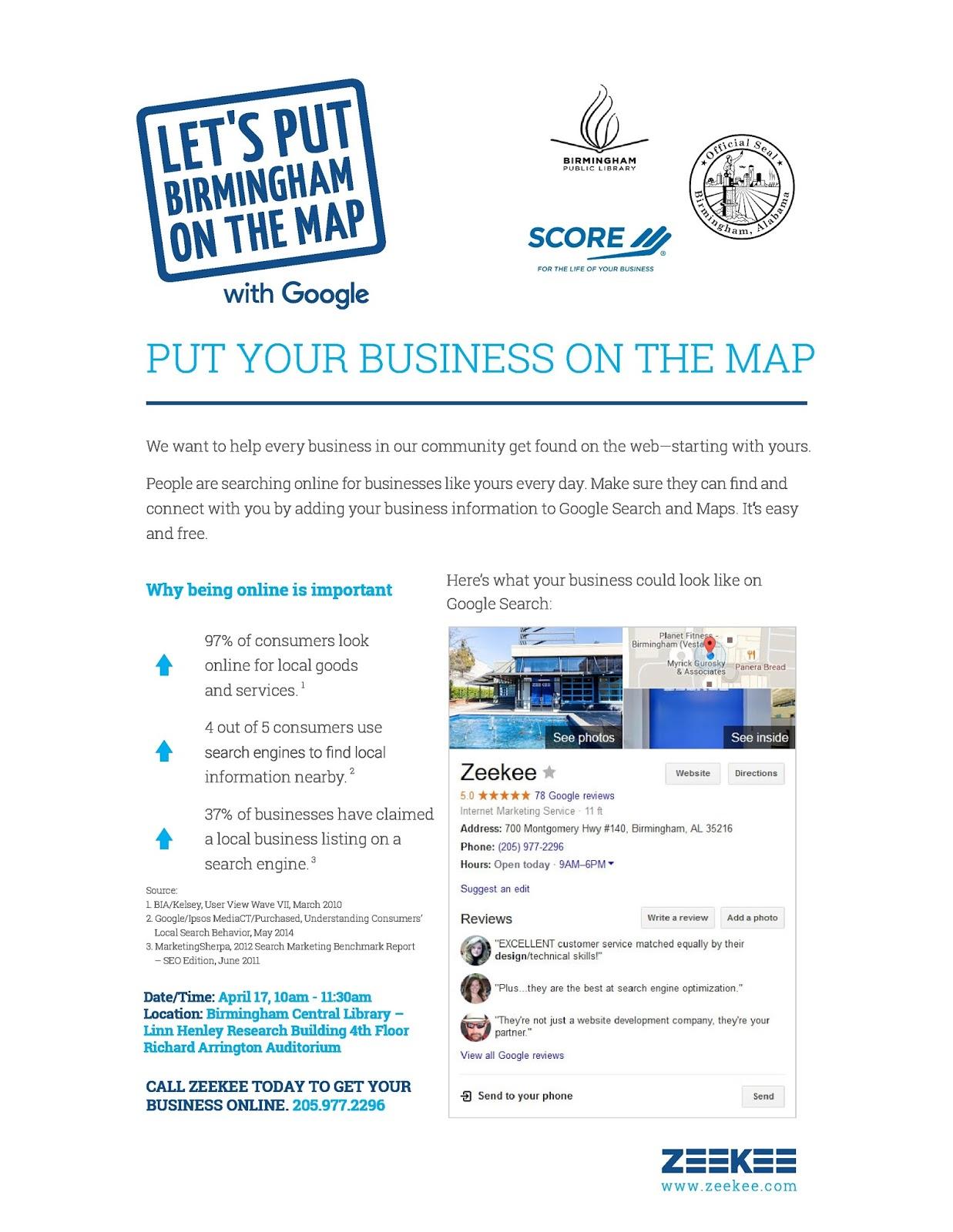 Birmingham Public Library: Get Your Business Online Workshop