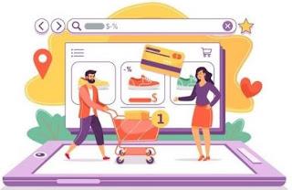 contoh bisnis online 2020 - toko online