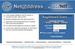 usa.net mail login