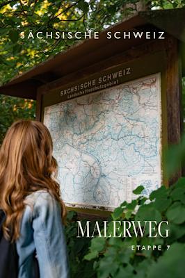 Malerweg Etappe 7 | Von Kurort Gohrisch bis Weißig | Wandern Sächsische Schweiz | Pfaffenstein – Festung Königstein 31