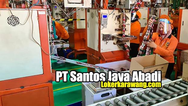 PT Santos Jaya Abadi 2021