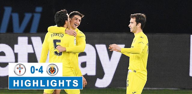 Celta de Vigo vs Villarreal – Highlights