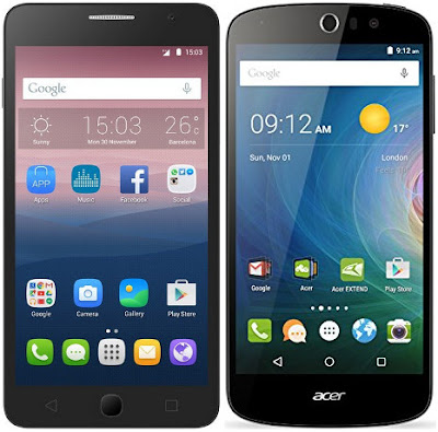 Alcatel One Touch Pop Star vs Acer Liquid Z530