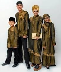 Model Busana Muslim Gamis Keluarga Terbaru