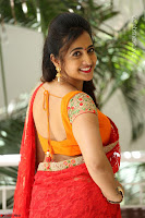 Lasya Cute Beauty in Saree Backless Choli at her Interview ~  Exclusive 068.JPG