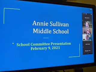 FM #458 - School Committee Meeting (P1 of 3): Annie Sullivan segment  (audio)
