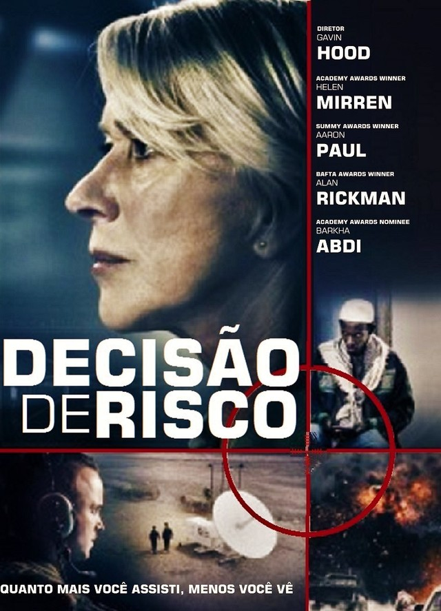 Decisão de Risco Dublado HD