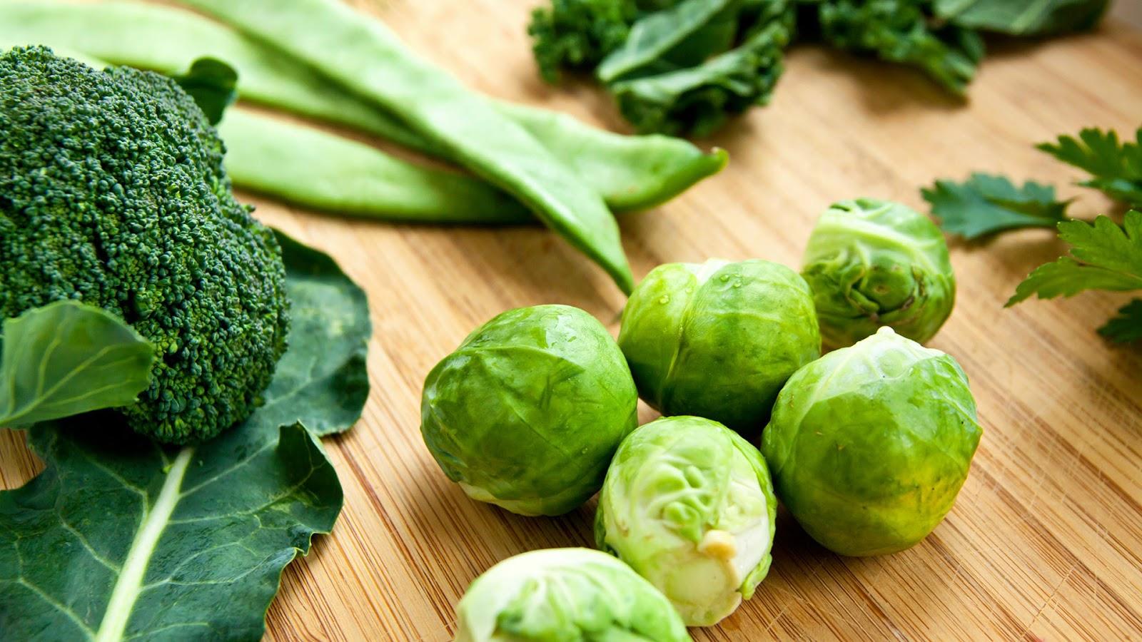 sehat untuk mata sayur hijau