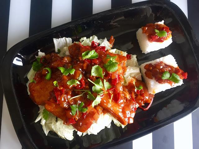 🌶 spicy tofu