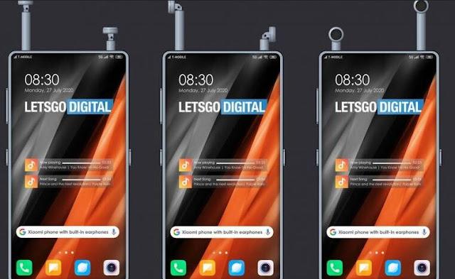 براءة اختراع جديدة من Xiaomi سماعات لاسلكية مدمجة