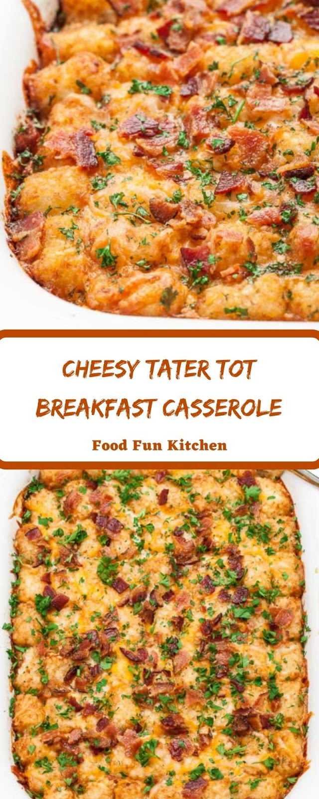 CHEESY TATER TOT BREAKFAST CASSEROLE