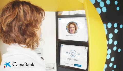GAB à reconnaissance faciale de CaixaBank