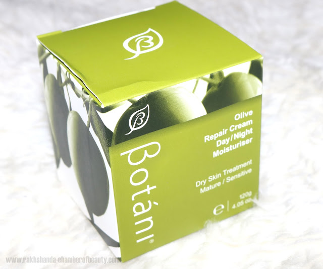 Botani Olive Repair Moisturising Cream Review, Indian beauty blogger, Chamber of Beauty