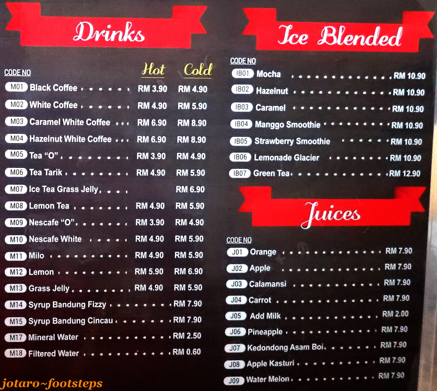 here s imano s cafe food menu i am already eyeing some of the other five star and five chilli rated dish