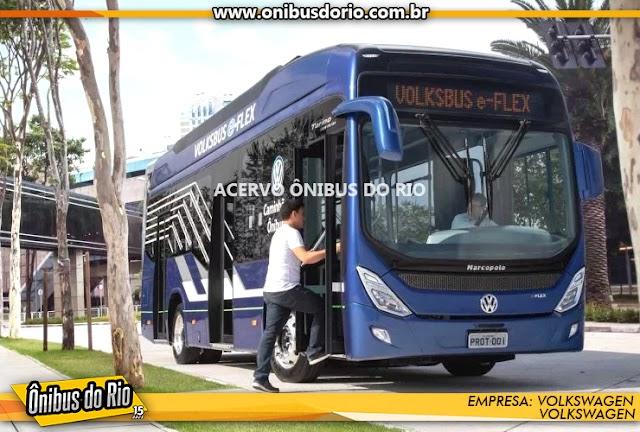 Volkswagen trará ônibus eletrificados para o Brasil em 2020