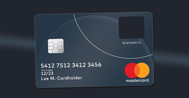 MasterCard launches Credit Card with Built-In Fingerprint Scanner