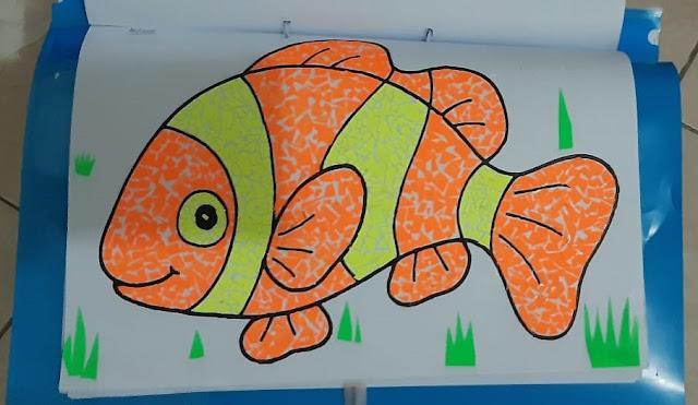 Gambar Kolase Ikan Nemo