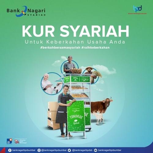 Bank Nagari Luncurkan Produk Kredit Usaha Rakyat (KUR) Syariah