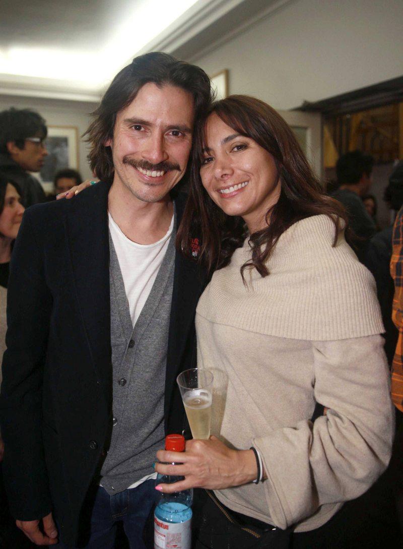 Catalina Olcay y sus 21 años junto a Álvaro Espinoza