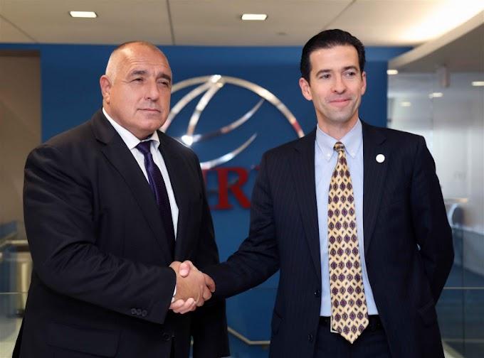 Премиерът Бойко Борисов проведе срещи с ръководствата на Международния републикански институт и на Националния демократичен институт