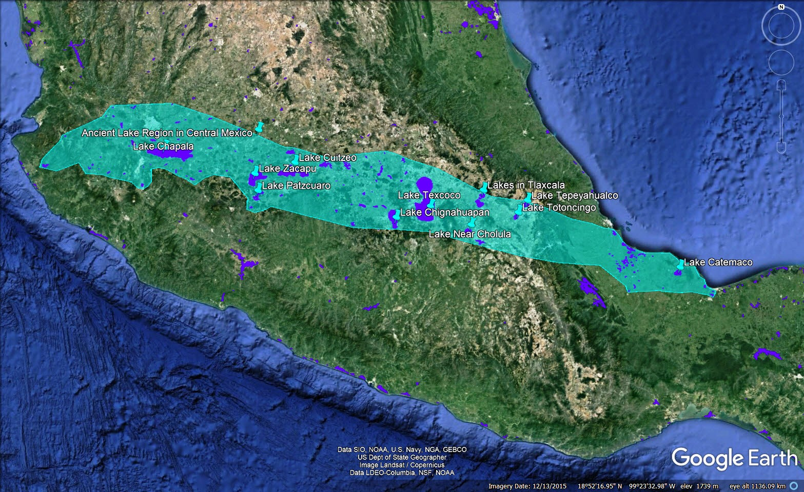 BOOK of MORMON RESOURCES: 2019 Aztec Yaxchilan Jicaque Map Of Mexico on