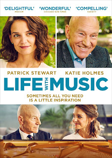 Life With Music Poster featuring Katie Holmes and Patrick Stewart