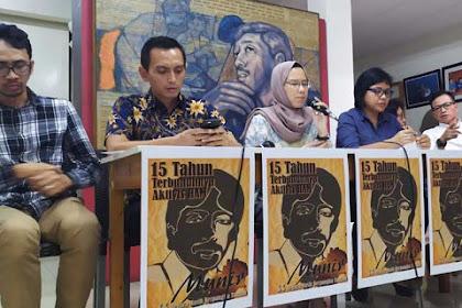 Dalang Pembunuhan Munir 15 Tahun Belum Terungkap, Mana Janji Jokowi?