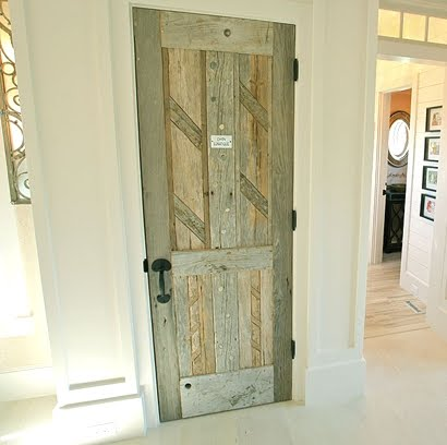 driftwood door