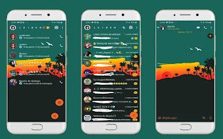 Landscape 5 Theme For YOWhatsApp & Fouad WhatsApp By Leidiane