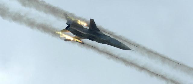 Η ρωσική Αεροπορία κτύπησε την τουρκική φάλαγγα που μπήκε στην πόλη της Ιντλίμπ!