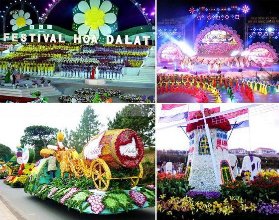 Lễ khai mạc Festival hoa Đà Lạt