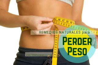 Remedios caseros para perder peso de manera saludable