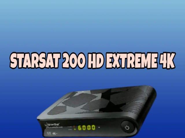 تعرف على مواصفات ستارسات STARSAT 200 HD EXTREME 4k مع السعر