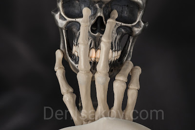 Skull (пепельница для сигары)