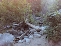 Bridge to North Side of Dry Creek Canyon to Horsetail Falls Lone Peak Wilderness Area