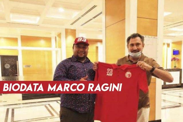 Biodata Marco Ragini Jurulatih TRW Kelantan FC.