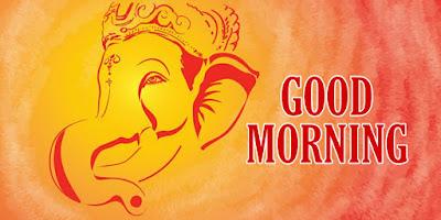 good morning ganpati bappa image