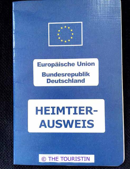 Heimtierausweis. Europa - Europe
