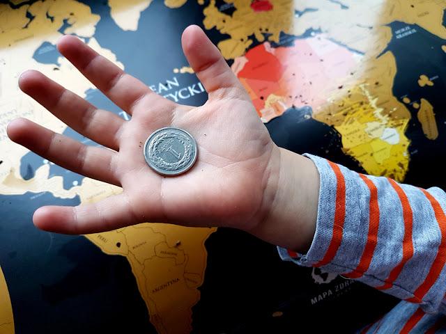 Mapa Zdrapka Playprint - mapa świata - geografia na wesoło - nauka przez zabawę - prezent dla podróżnika