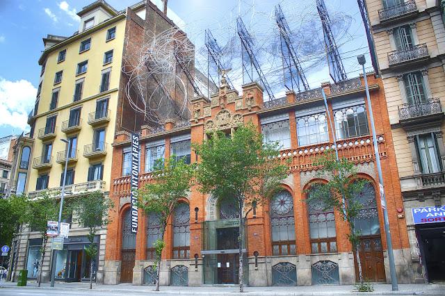 Fundación Antoni Tàpies, Barcelona