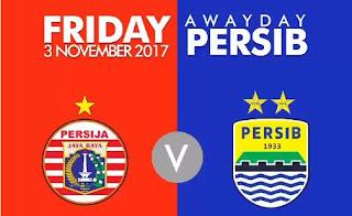 Susunan Pemain Persija Jakarta vs Persib Bandung