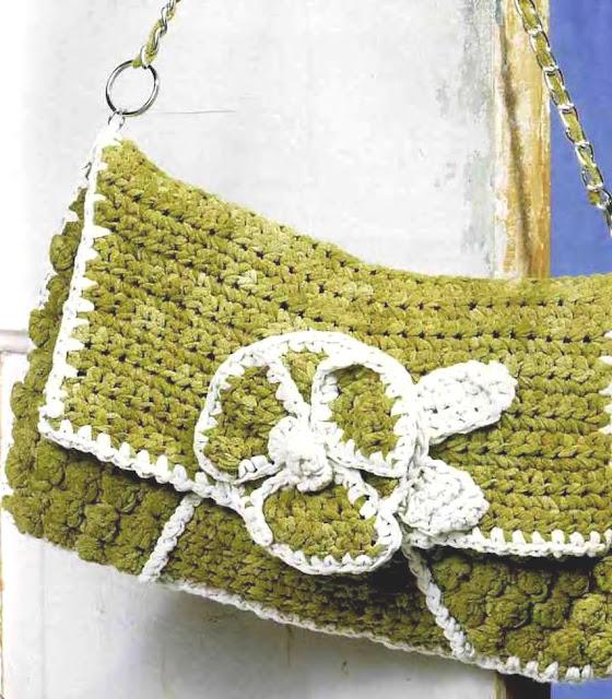 Классическая сумка. Crochet Bag
