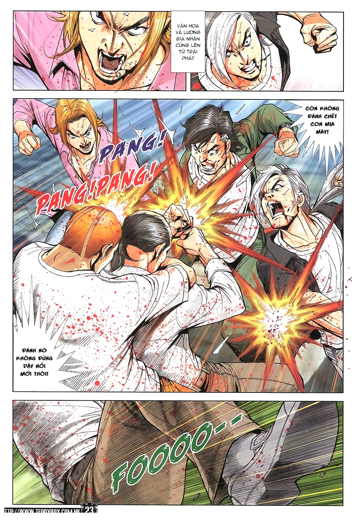Người Trong Giang Hồ chapter 1762: đánh nát y văn hoa trang 20