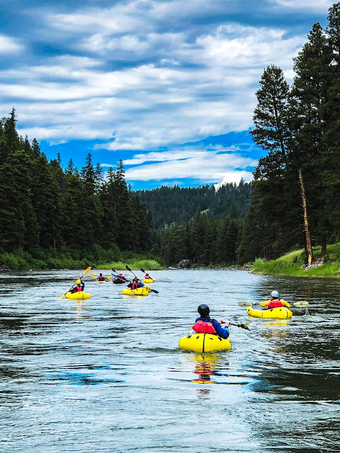 Missoula rafting and pack rafting