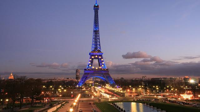 City of Lights Paris - Binoy Nazareth