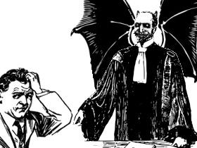 法廷(素材使用)