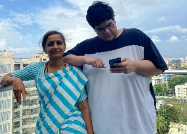 Tanmay Bhat With His Mother