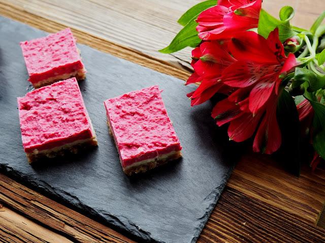 Himbeer-Raw-Cake - das Rezept