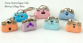 Purse Charm Zipper Pull for Your Purse